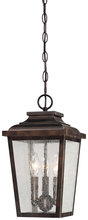 Minka-Lavery 72174-189 - 3 Light Outdoor Chain Hung