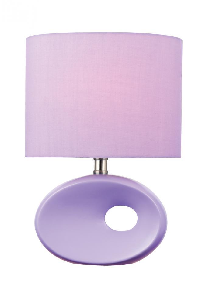 Table lamp lavender ceramic bodylav fabric e27 a 60w ls table lamp lavender ceramic bodylav fabric e27 a 60w aloadofball Image collections