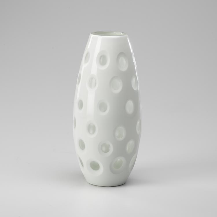 Lg Polka Dot Vase 00487 Bright City Lights