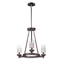 Maxim 26325CLFTOI - Crescendo-Mini Chandelier