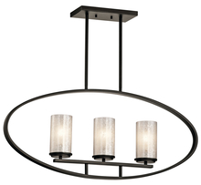 Kichler 43318OZ - Linear Chandelier 3Lt