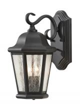 Generation Lighting - Seagull OL5901BK - Medium Two Light Outdoor Wall Lantern