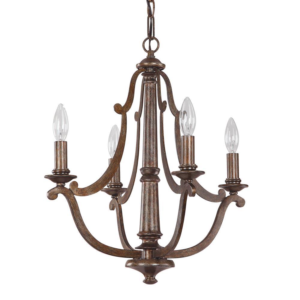 4 light petite chandelier 4364rt bright city lights 4 light petite chandelier aloadofball Images