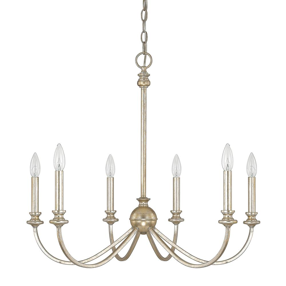 6 light chandelier 4746wg 000 bright city lights 6 light chandelier aloadofball Image collections