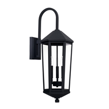 Capital 926931BK - 3 Light Outdoor Wall Lantern