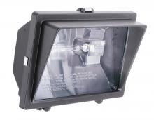 Acuity Brands 139CJ6 - 1-Light Outdoor Bronze Quartz Halogen Floodlight with Visor
