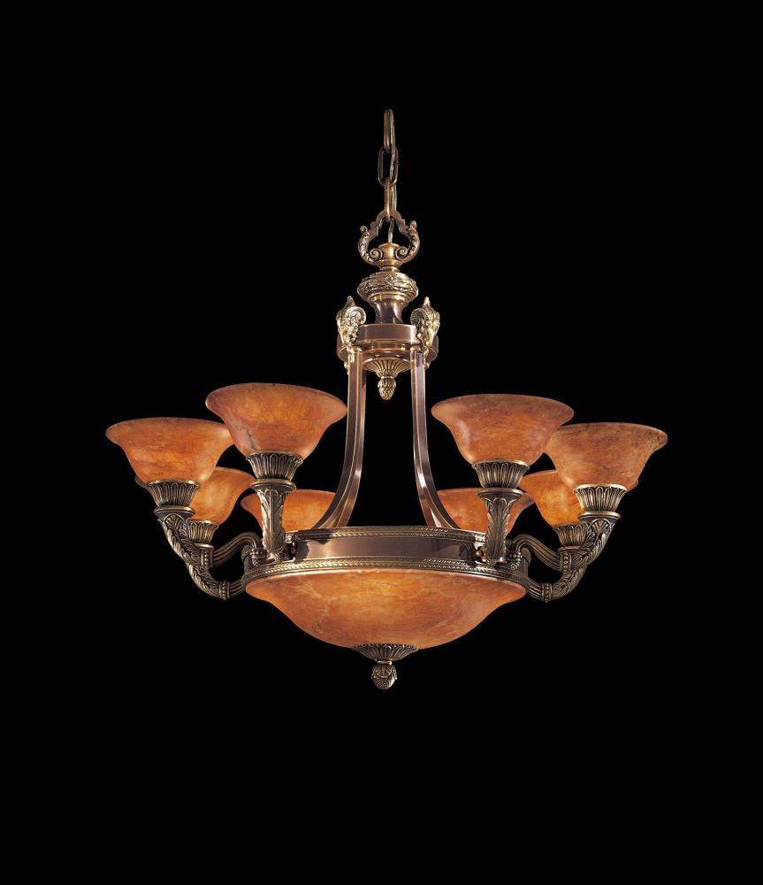 Twelve light antique bronze brandy alabaster glass up chandelier twelve light antique bronze brandy alabaster glass up chandelier arubaitofo Gallery